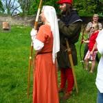 gatavojamies  lokšaušanas turnīram  preparing for  archery contest
