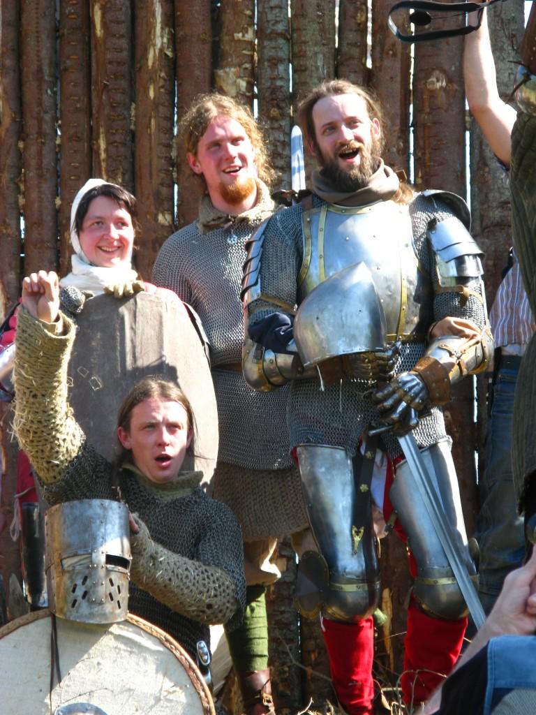 Mūsu cīnītāji  Our warriors