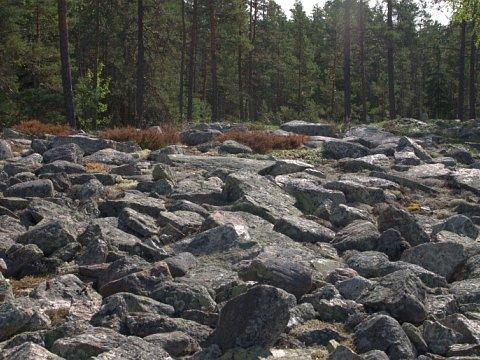 Somijas akmeņainā zeme