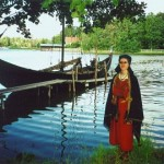 Lībiete un vikingu kuģis