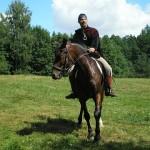 Vadonis zirgā