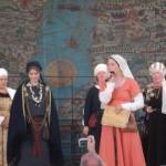 Demonstrējam viduslaiku Rīgas lībieti Presenting Livonian inhabitant of medieval Riga
