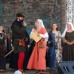 Viduslaiku tērpu demonstrējumi Medieval costume show