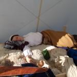 Ļoti nogurusi latgaliete Very tired lethgallian lady...
