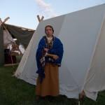 Kārļu Ainavu 6. apbedījuma tērps Recreation of Lethgallian costume from Kārļu Ainavas 6. burial.